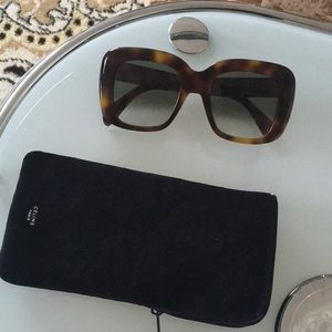 Celine sunglasses new with case